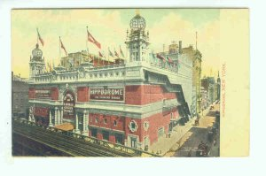 73693 NY New York City Vintage Postcard Hippodrome 1910