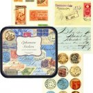 Ephemera Vintage Decorative Labels Stickers in Tin Cavallini Papers