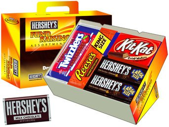 Hershey's fund raising assortment