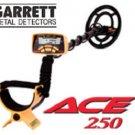 GARRETT ACE 250 METAL DETECTOR NEW!