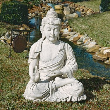 DESIGN TOSCANO Giant Buddha Monument-Sized Garden Sculpture