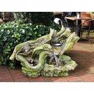 Design Toscano Rainbow Falls Cascading Garden Fountain
