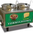 Benchmark Chili & Cheese Warmer 2 pumps 51074A Warmer NEW