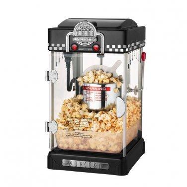 Black Little Bambino 2-1/2Oz Table Top Retro Style Popcorn Popper NEW
