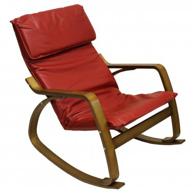 International Caravan Stockholm Indoor Contemporary Rocking Chair New!