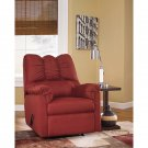 Signature Design by Ashley Darcy Rocker Recliner in Salsa Fabric. New!