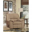 Signature Design by Ashley Dominator Rocker Recliner in Mocha Fabric. New!