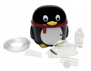 John Bunn Penguin Shaped Pediatric Nebulizer Compressor Asthma Child #JB0112-062
