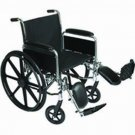 "Roscoe K31616DHREL K3 16"" Wheelchair w/ Rem. Desk Arms"