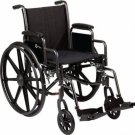 "Roscoe Lightweight Folding Wheelchair Portable 16""x16"" K3 Lite"