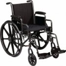 "Roscoe Medical K3-Lite Lightweight Wheelchair Elevating Legrest 20"" W x 16"" D"