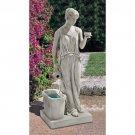 HEBE GODDESS OF YOUTH FOUNTAIN DESIGN TOSCANO greek goddess fountain