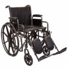 "Roscoe K2ST2016DHREL K2 20"" Wheelchair w/ Desk Arms"