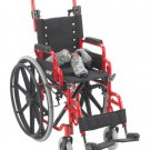 """Wenzelite Wallaby Pediatric Red 12"""" Folding Wheelchair WB-1200 Wheelchair NEW"""