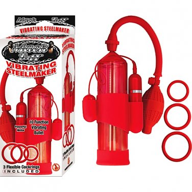 Mack Tuff Vibrating Steelmaker (Red)