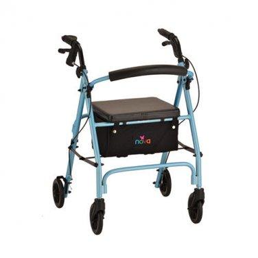 NOVA 4236DB VIBE 6 ROLLING WALKER-SKY DIAMOND BLUE New