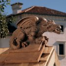 Design Toscano Apex The Winged Dragon Roof Cresting Statue