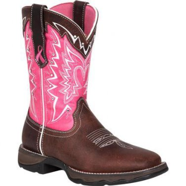 RD3557 - Durango Benefiting Stefanie Spielman Women's Western Boots NEW! ALL SIZES.
