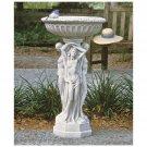 Design Toscano Column of the Maenads Pedestal Font