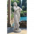 "Design Toscano Dancer with Finger on Chin,"" Sculpture 1809"