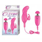 Ozone Orgasmic Bunny 10 Function USB Rechargeable Silicone Waterproof Pink