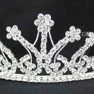 Tiara Crown Wedding Party or Costume Hair Decor Crystals