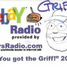 "2006 eBay Radio GRIFF PIN ""YOU GOT THE GRIFF"" BUTTON"