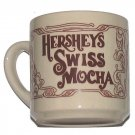 Hershey Swiss Mocha Drinking Cup Cocoa Recipe Ceramic used