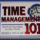 Time Management 101 self-help motivational inspirational New Book