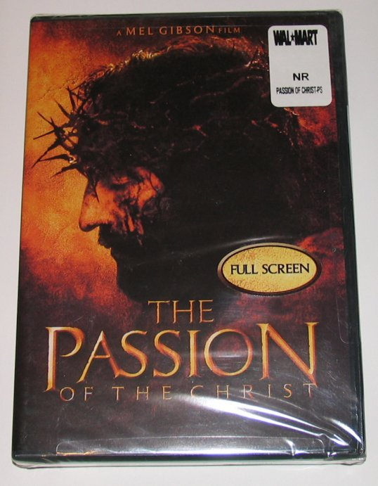 DVD The Passion of Christ NEW Mel Gibson, Full Screen Edition 2004 NTSC