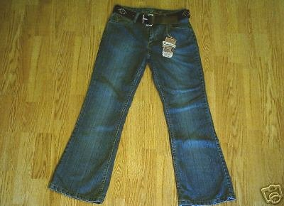 ARIZONA FADED LEG STRETCH JEANS-SIZE 16-29 X 29-NWT
