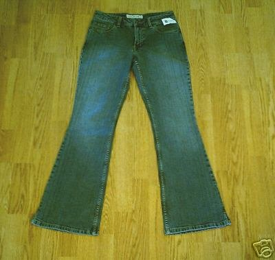 MAURICES LOW RISE STRETCH FLARE JEANS-SIZE 1 2-29 X 32-NWT