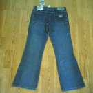 LEI LOW RISE FADED LEG NEAT STYLE JEANS-3-29 X 31-NWT