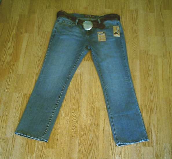 HINT LOW RISE WHISKER STRETCH JEANS-SIZE 15-36 X 32-NWT