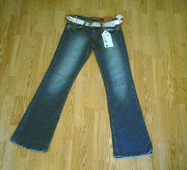 VIGOSS LOW RISE STRETCH FLARE JEANS-SIZE 7-31 x 33-NWT