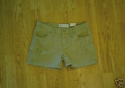 ARIZONA WOMENS HIPSTER SHORTS-SIZE 0-29 WAIST-NWT!!