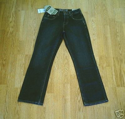SILVER FADED LEG BOOTCUT JEANS-SIZE 26 X 30-NWT