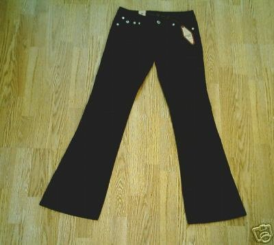 ARIZONA LOW RISE STRETCH CORDUROY PANTS-0-29 X 32.5-NWT