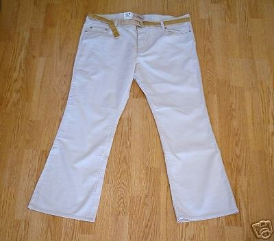 OLD NAVY STRETCH BOOTCUT CORDUROYS-20-43 X 30-NWT