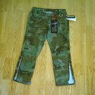 VANILLA STAR ULTRA LOW RISE CAMOFLAUGE PANTS-1-27-NWT