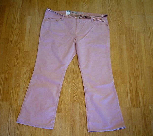 OLD NAVY LOW RISE BOOTCUT CORDUROY PANTS-20-44 X 30-NWT