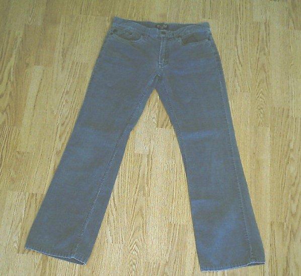RALPH LAUREN JEANS BOOTCUT CORDUROY PANTS-2-30 X 30