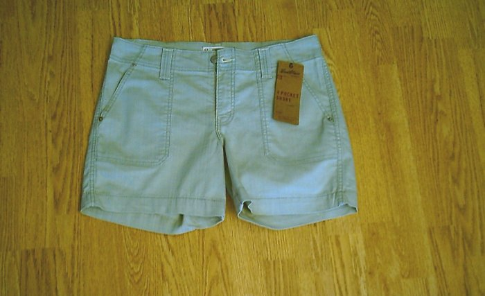 LEVIS JEANS WOMENS STRETCH SHORTS-SIZE 8-33 X 5 3/4-NWT