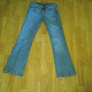 VIGOSS LOW RISE DISTRESSED STRETCH JEANS-SIZE 0-26 X 31