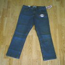 LEVIS MID RISE STRAIGHT STRETCH JEANS-6 SHORT-31 30-NWT