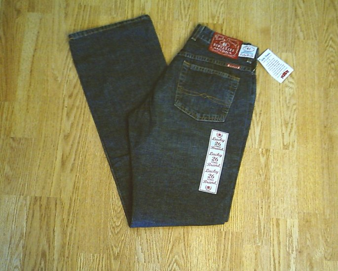 LUCKY LOW RISE EASY FIT FLARE JEANS-2 LONG-28 33.5-NWT
