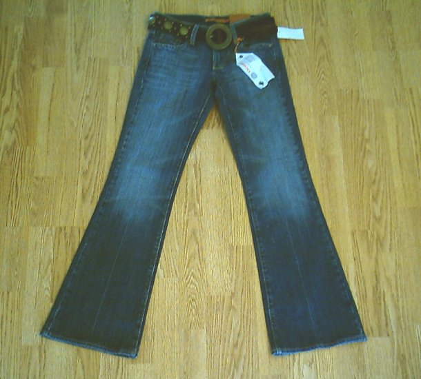 VIGOSS LOW RISE FLARE STRETCH JEANS-3-28 X 32 1/2-NWT