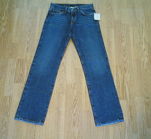 LUCKY LOWER RISE CLASSIC JEANS-SIZE 8 LONG-30 X 34-NWT