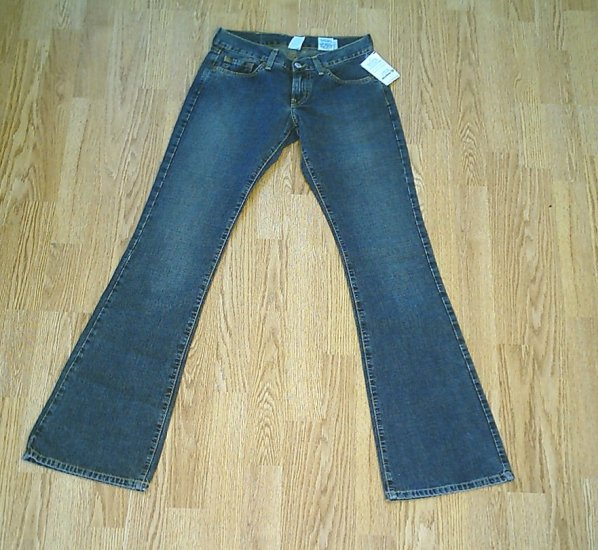 LUCKY LOW RISE CUSTOM JEANS-SIZE 0-28 X 33 1/2-NWT NEW