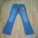 LEVIS 518 SUPERLOW BOOTCUT JEANS-1-28 X 31 1/2-NWT NEW